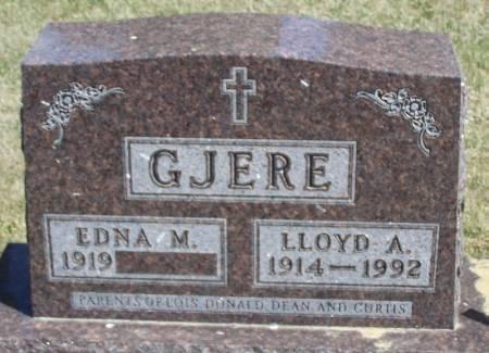 GJERE, LLOYD A - Winneshiek County, Iowa | LLOYD A GJERE