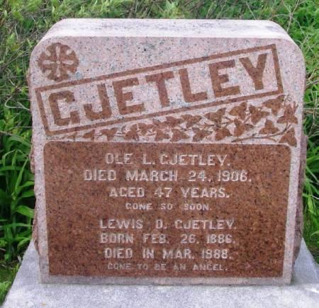 GJETLEY, OLE L. - Winneshiek County, Iowa   OLE L. GJETLEY