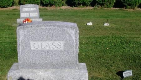GLASS, CHARLES FAMILY STONE - Winneshiek County, Iowa   CHARLES FAMILY STONE GLASS