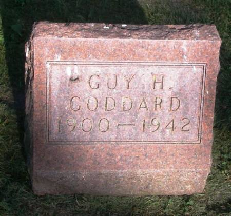 GODDARD, GUY H. - Winneshiek County, Iowa | GUY H. GODDARD
