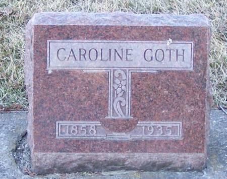 GOTH, CAROLINE - Winneshiek County, Iowa | CAROLINE GOTH