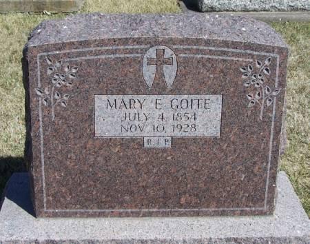 GOITE, MARY E - Winneshiek County, Iowa | MARY E GOITE