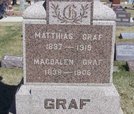 GRAF, MATTHIAS - Winneshiek County, Iowa   MATTHIAS GRAF