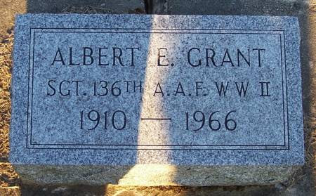 GRANT, ALBERT E. - Winneshiek County, Iowa | ALBERT E. GRANT