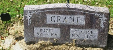 GRANT, CLARICE - Winneshiek County, Iowa | CLARICE GRANT