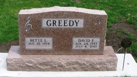 GREEDY, DAVID F. - Winneshiek County, Iowa | DAVID F. GREEDY