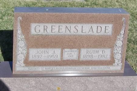 GREENSLADE, RUTH D - Winneshiek County, Iowa | RUTH D GREENSLADE