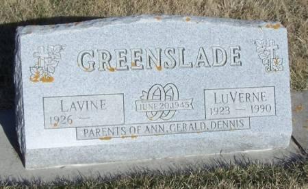 GREENSLADE, LUVERNE - Winneshiek County, Iowa | LUVERNE GREENSLADE
