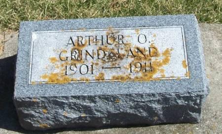 GRINDELAND, ARTHUR O - Winneshiek County, Iowa | ARTHUR O GRINDELAND