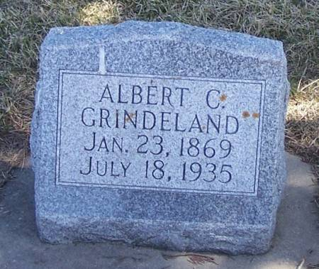 GRINDELAND, ALBERT C - Winneshiek County, Iowa   ALBERT C GRINDELAND