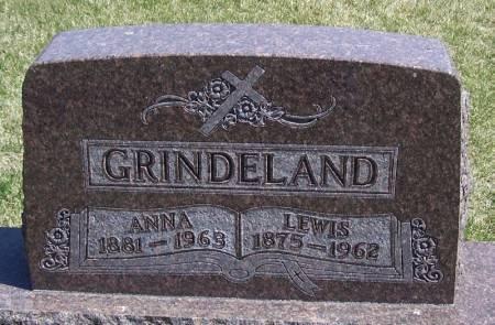 GRINDELAND, ANNA - Winneshiek County, Iowa | ANNA GRINDELAND