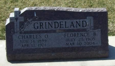 GRINDELAND, FLORENCE B - Winneshiek County, Iowa | FLORENCE B GRINDELAND