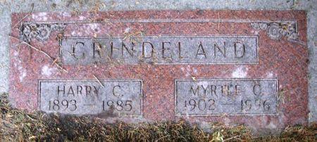 GRINDELAND, MYRTLE C. - Winneshiek County, Iowa | MYRTLE C. GRINDELAND