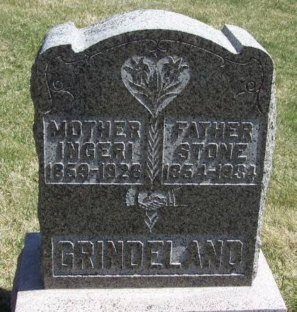 GRINDELAND, INGERI - Winneshiek County, Iowa | INGERI GRINDELAND