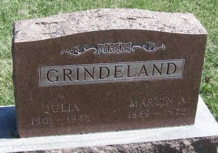 GRINDELAND, JULIA - Winneshiek County, Iowa | JULIA GRINDELAND