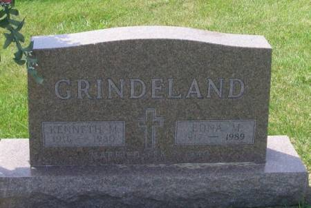 GRINDELAND, KENNETH M - Winneshiek County, Iowa   KENNETH M GRINDELAND