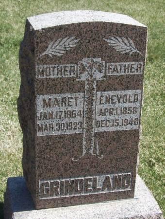 GRINDELAND, ENEVOLD - Winneshiek County, Iowa | ENEVOLD GRINDELAND