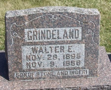 GRINDELAND, WALTER E - Winneshiek County, Iowa   WALTER E GRINDELAND