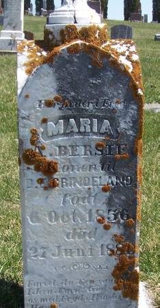 GRINDELAND, MARIA A - Winneshiek County, Iowa | MARIA A GRINDELAND