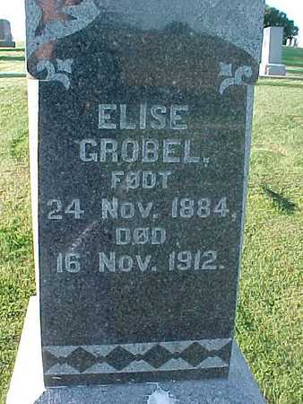 GROBEL, ELISE - Winneshiek County, Iowa   ELISE GROBEL