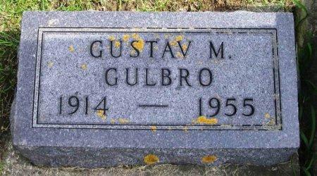 GULBRO, GUSTAV M - Winneshiek County, Iowa   GUSTAV M GULBRO