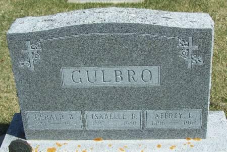 GULBRO, GERALD B - Winneshiek County, Iowa | GERALD B GULBRO