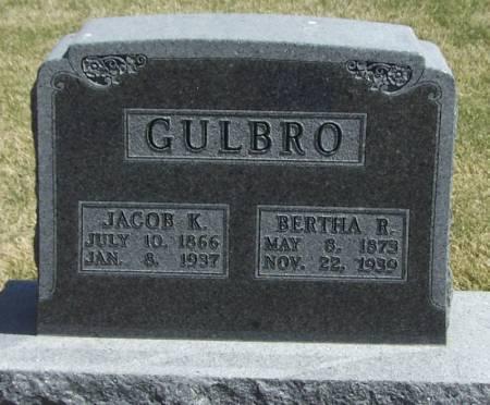 GULBRO, BERTHA R - Winneshiek County, Iowa | BERTHA R GULBRO