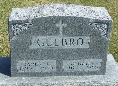 GULBRO, JAMES T - Winneshiek County, Iowa | JAMES T GULBRO