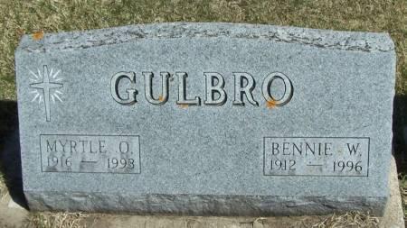 GULBRO, BENNIE W - Winneshiek County, Iowa | BENNIE W GULBRO