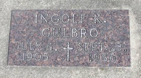 GULBRO, INGOLF K - Winneshiek County, Iowa   INGOLF K GULBRO