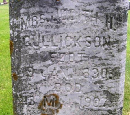 GULLICKSON, JUDITH H. - Winneshiek County, Iowa   JUDITH H. GULLICKSON