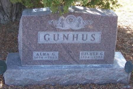 GUNHUS, HELMER G - Winneshiek County, Iowa | HELMER G GUNHUS