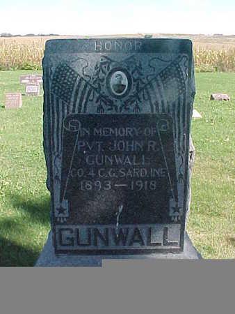 GUNWALL, JOHN  R. - Winneshiek County, Iowa | JOHN  R. GUNWALL