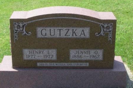 GUTZKA, JENNIE O. - Winneshiek County, Iowa | JENNIE O. GUTZKA