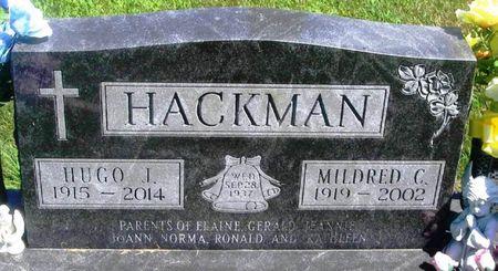 HACKMAN, HUGO JOHN - Winneshiek County, Iowa | HUGO JOHN HACKMAN