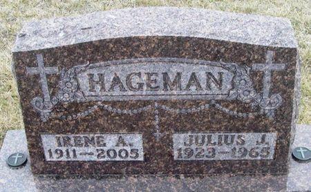 HAGEMAN, IRENE ANN - Winneshiek County, Iowa   IRENE ANN HAGEMAN