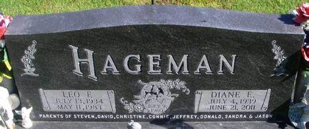 HAGEMAN, DIANE ELIZABETH - Winneshiek County, Iowa | DIANE ELIZABETH HAGEMAN