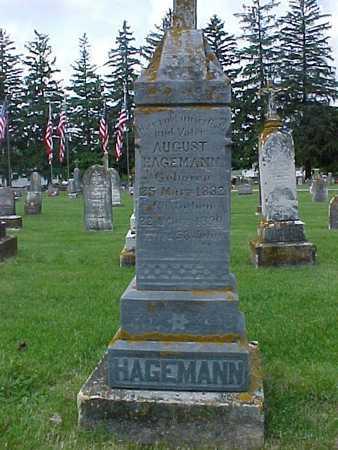 HAGEMANN, AUGUST - Winneshiek County, Iowa | AUGUST HAGEMANN