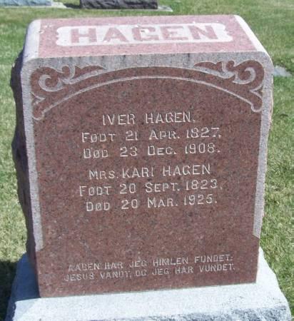 HAGEN, IVER - Winneshiek County, Iowa | IVER HAGEN