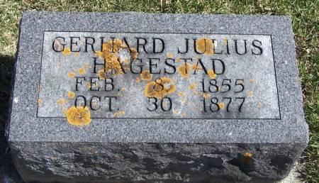 HAGESTAD, GERHARD JULIUS - Winneshiek County, Iowa   GERHARD JULIUS HAGESTAD