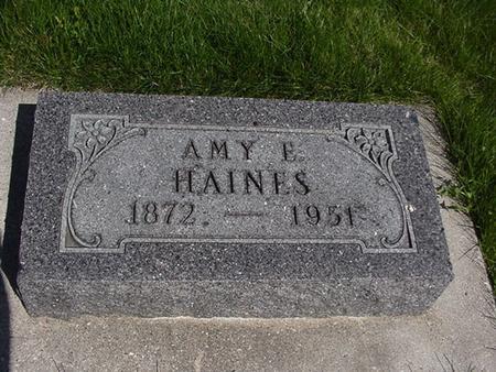 HAINES, AMY E. - Winneshiek County, Iowa | AMY E. HAINES