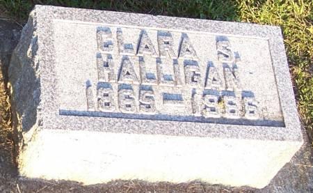 HALLIGAN, CLARA S - Winneshiek County, Iowa | CLARA S HALLIGAN