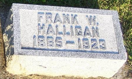 HALLIGAN, FRANK W. - Winneshiek County, Iowa | FRANK W. HALLIGAN