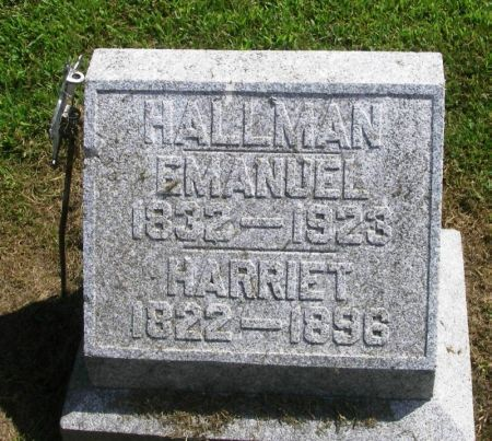 HALLMAN, EMANUEL - Winneshiek County, Iowa   EMANUEL HALLMAN