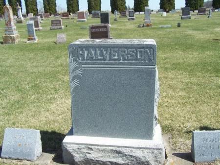 HALVERSON, MIKKEL FAMILY STONE - Winneshiek County, Iowa   MIKKEL FAMILY STONE HALVERSON
