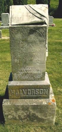HALVERSON, OLAVUS - Winneshiek County, Iowa | OLAVUS HALVERSON