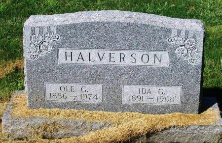 HALVERSON, IDA G. - Winneshiek County, Iowa | IDA G. HALVERSON