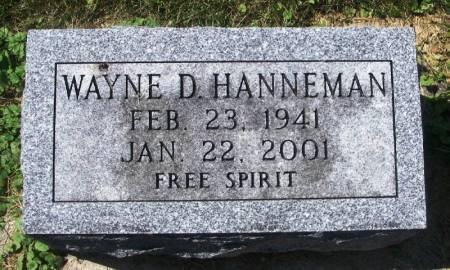 HANNEMAN, WAYNE D. - Winneshiek County, Iowa   WAYNE D. HANNEMAN