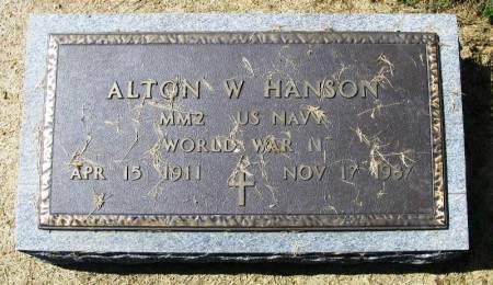 HANSON, ALTON W. - Winneshiek County, Iowa | ALTON W. HANSON