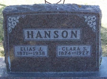 HANSON, CLARA S - Winneshiek County, Iowa | CLARA S HANSON